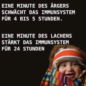 lachen stärkt Immunsystem